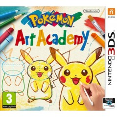 POKEMON ART ACADEMY 3DS VF OCC