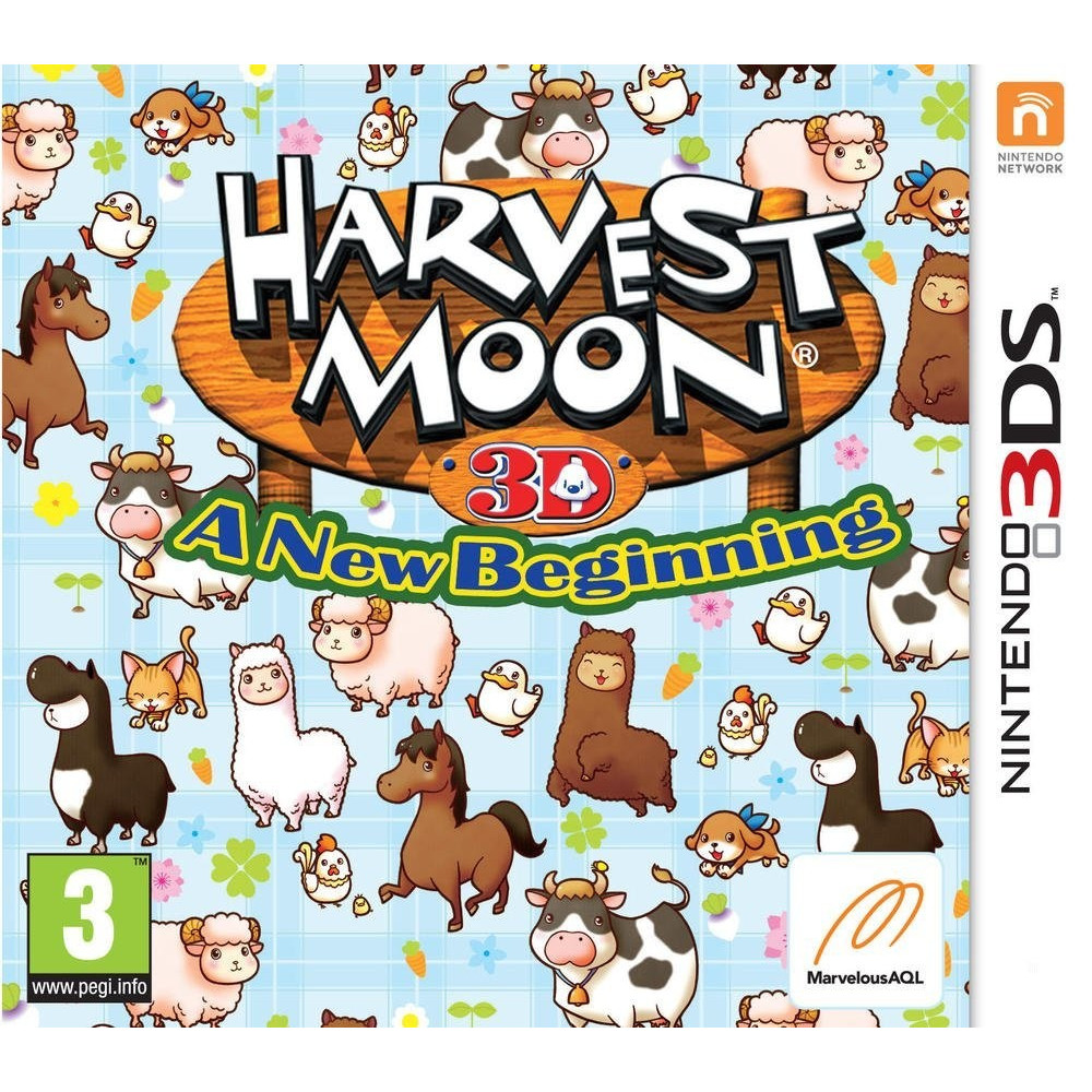 HARVEST MOON A NEW BEGINING 3DS VF