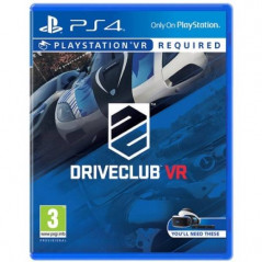DRIVE CLUB VR PS4 FR NEW