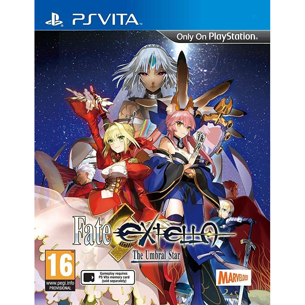 FATE EXTELLA THE UMBRAL STAR PSVITA ANGLAIS OCCASION