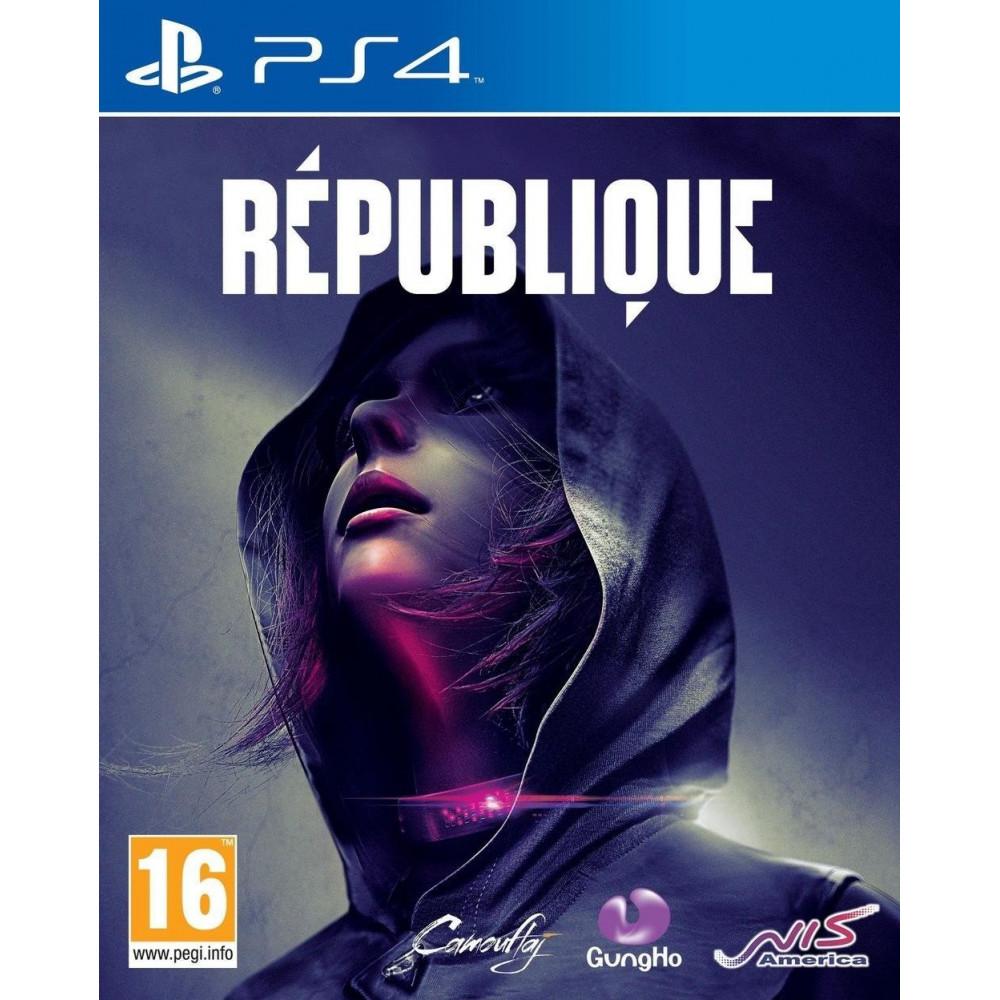 REPUBLIQUE PS4 ANGLAIS NEW
