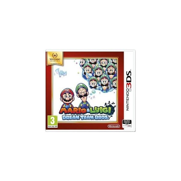 MARIO ET LUIGI DREAM TEAM BROS NINTENDO SELECTS 3DS FR