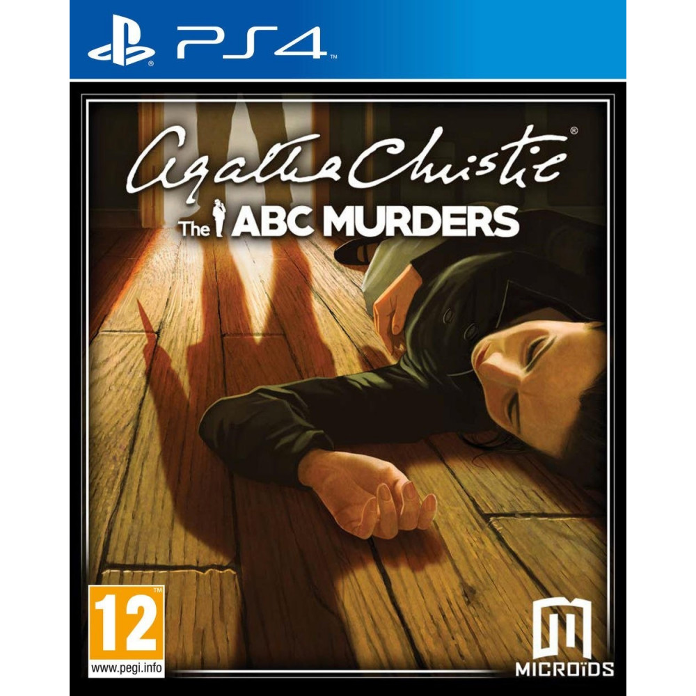 AGATHA CHRISTIE THE ABC MURDERS PS4 VF