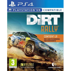 DIRT RALLY VR PS4 FRANCAIS NEW