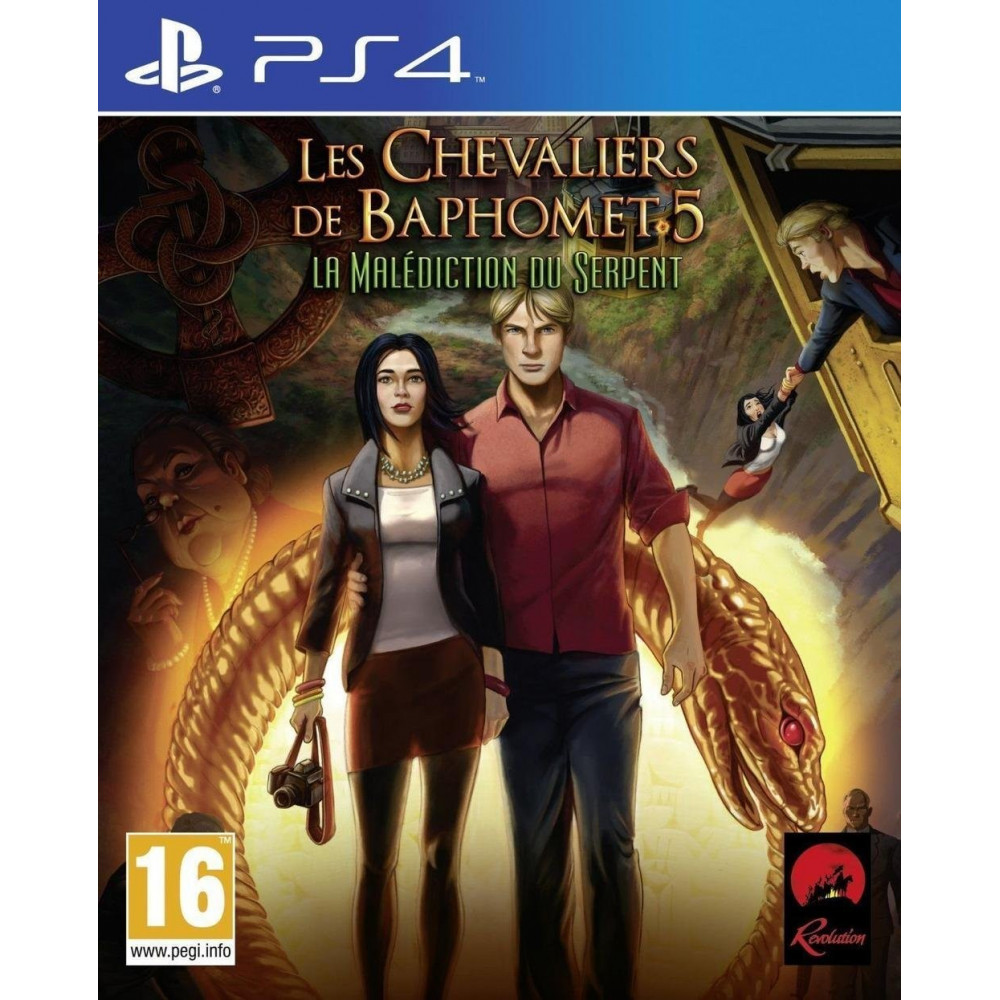 LES CHEVALIERS DE BAPHOMET (BROKEN SWORD 5) PS4 VF
