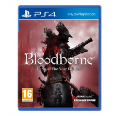 BLOODBORNE GAME OF THE YEAR EDITION PS4 EURO FRANCAIS NEW
