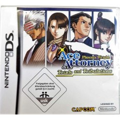 PHOENIX WRIGHT ACE ATTORNEY - TRIALS AND TRIBULATIONS NDS NOE OCCASION (JEU EN FRANCAIS)