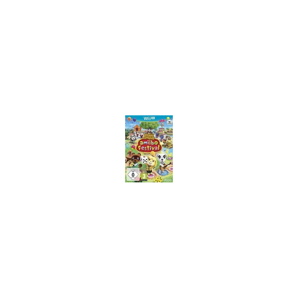 ANIMAL CROSSING AMIIBO FESTIVAL WIIU PAL-EURO OCCASION