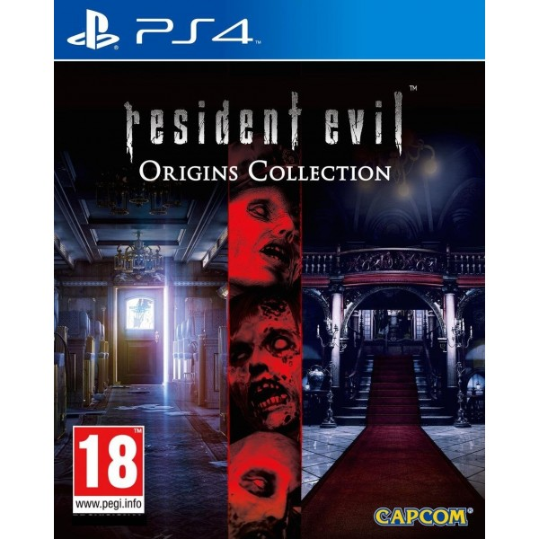 RESIDENT EVIL ORIGINS PS4 FR OCCASION