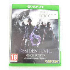 RESIDENT EVIL 6 XBOX ONE FR OCCASION