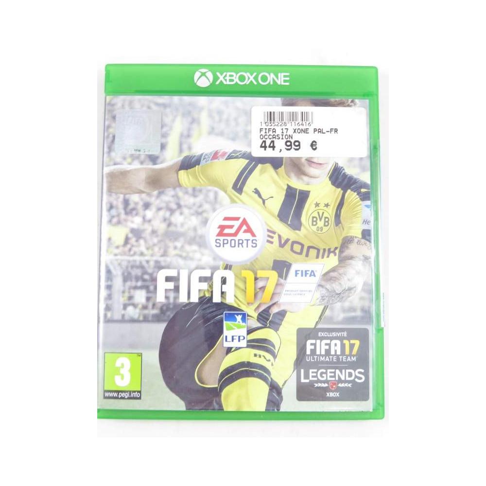 FIFA 17 XONE PAL-FR OCCASION