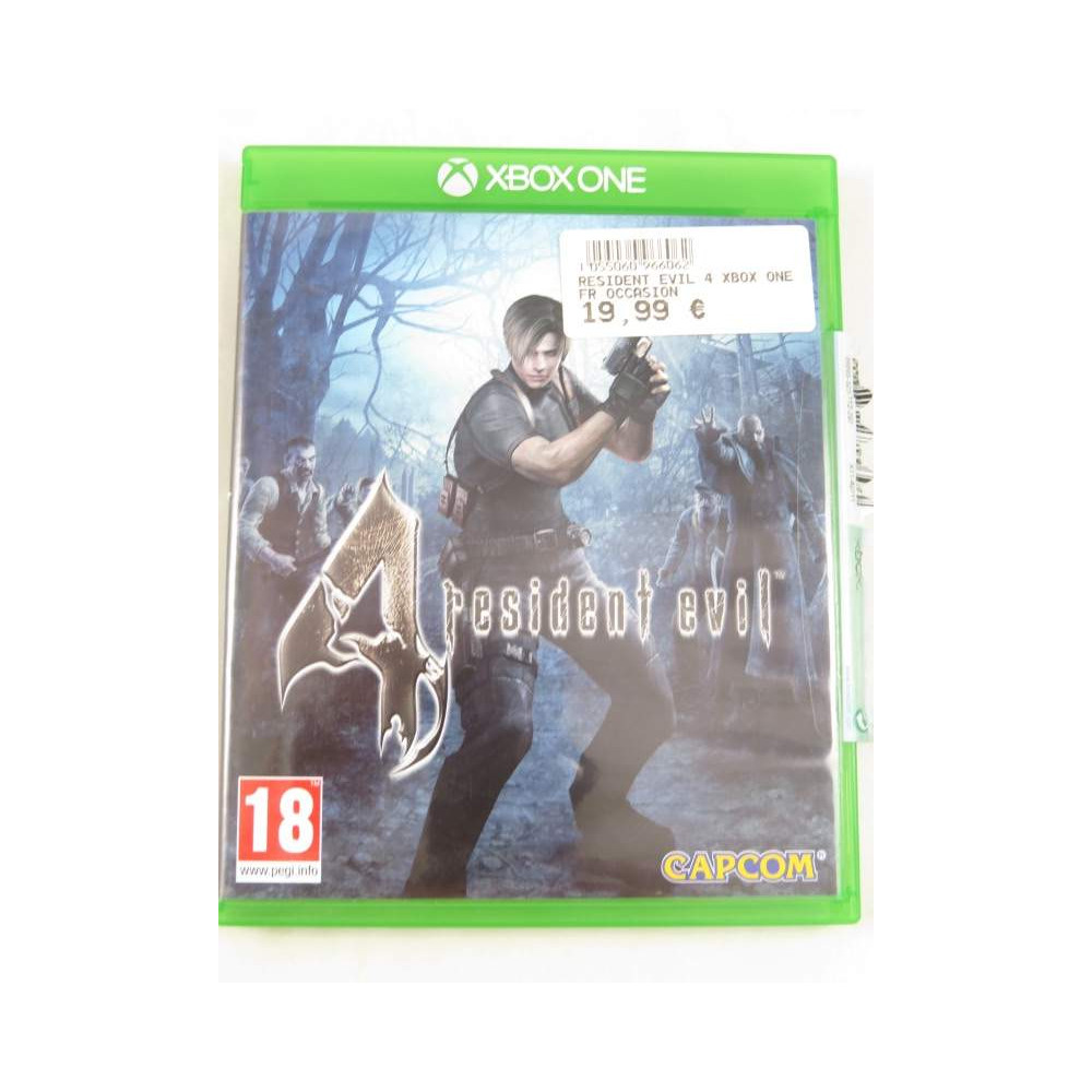 RESIDENT EVIL 4 XBOX ONE FR OCCASION