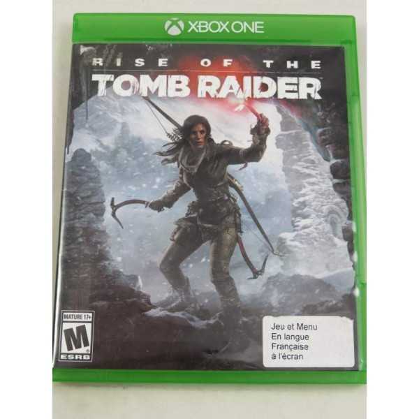 RISE OF THE TOMB RAIDER XONE US OCCASION