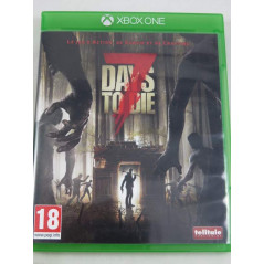 7 DAYS TO DIE XBOX ONE FRANCAIS OCCASION