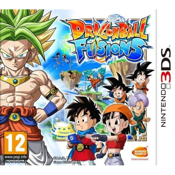 DRAGON BALL FUSION 3DS FRANCAIS OCCASION