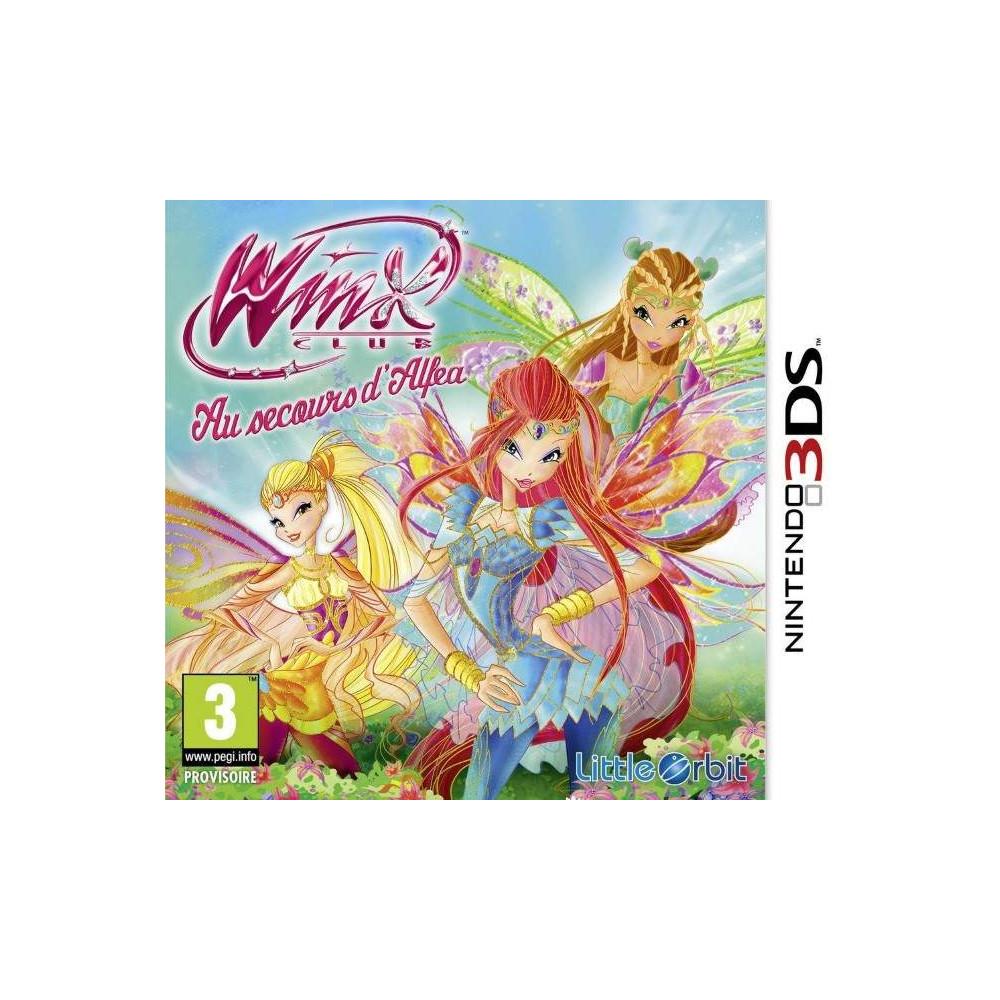 WINX CLUB SAVING ALFEA 3DS FRANCAIS OCCASION