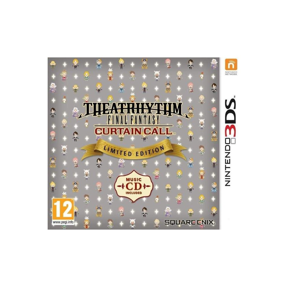 THEATRHYTHM FINAL FANTASY CURTAIN CALL LIMITED EDITION 3DS FR OCCASION