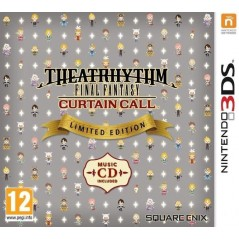 THEATRHYTHM FINAL FANTASY CURTAIN CALL LIMITED EDITION 3DS FR OCCASION