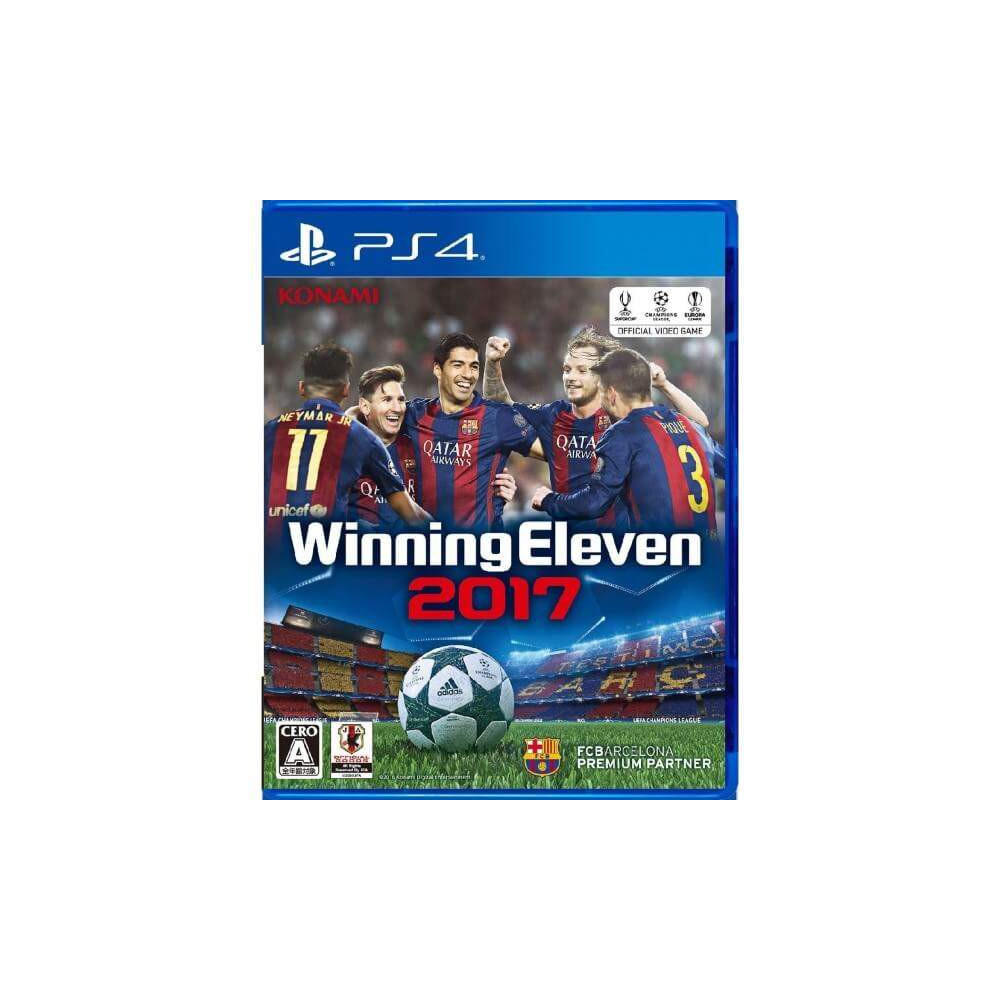 WINNING ELEVEN 2017 PS4 JAPONAIS OCCASION