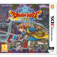 DRAGON QUEST VIII JOURNEY OF THE CURSED KING 3DS ANGLAIS OCCASION