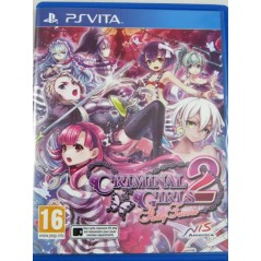 CRIMINAL GIRLS 2 PARTY FAVORS PSVITA FR OCCASION