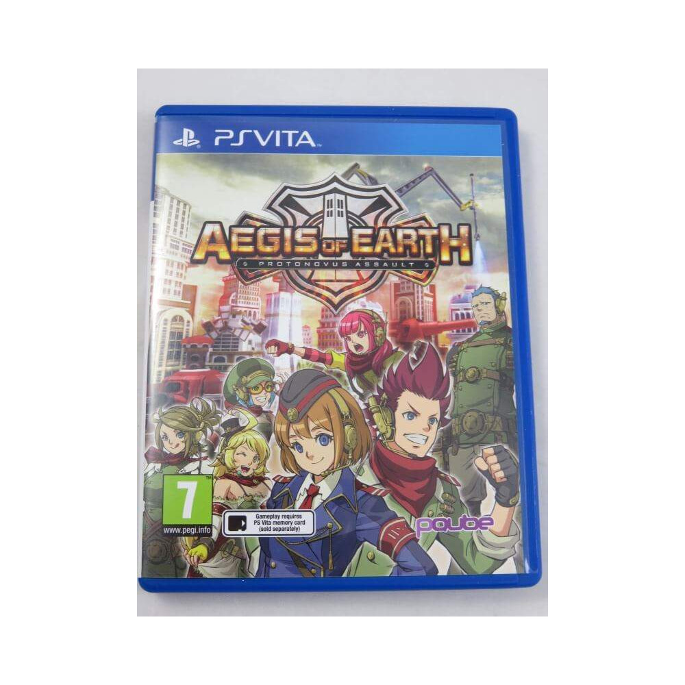 AEGIS OF EARTH PSVITA UK OCCASION