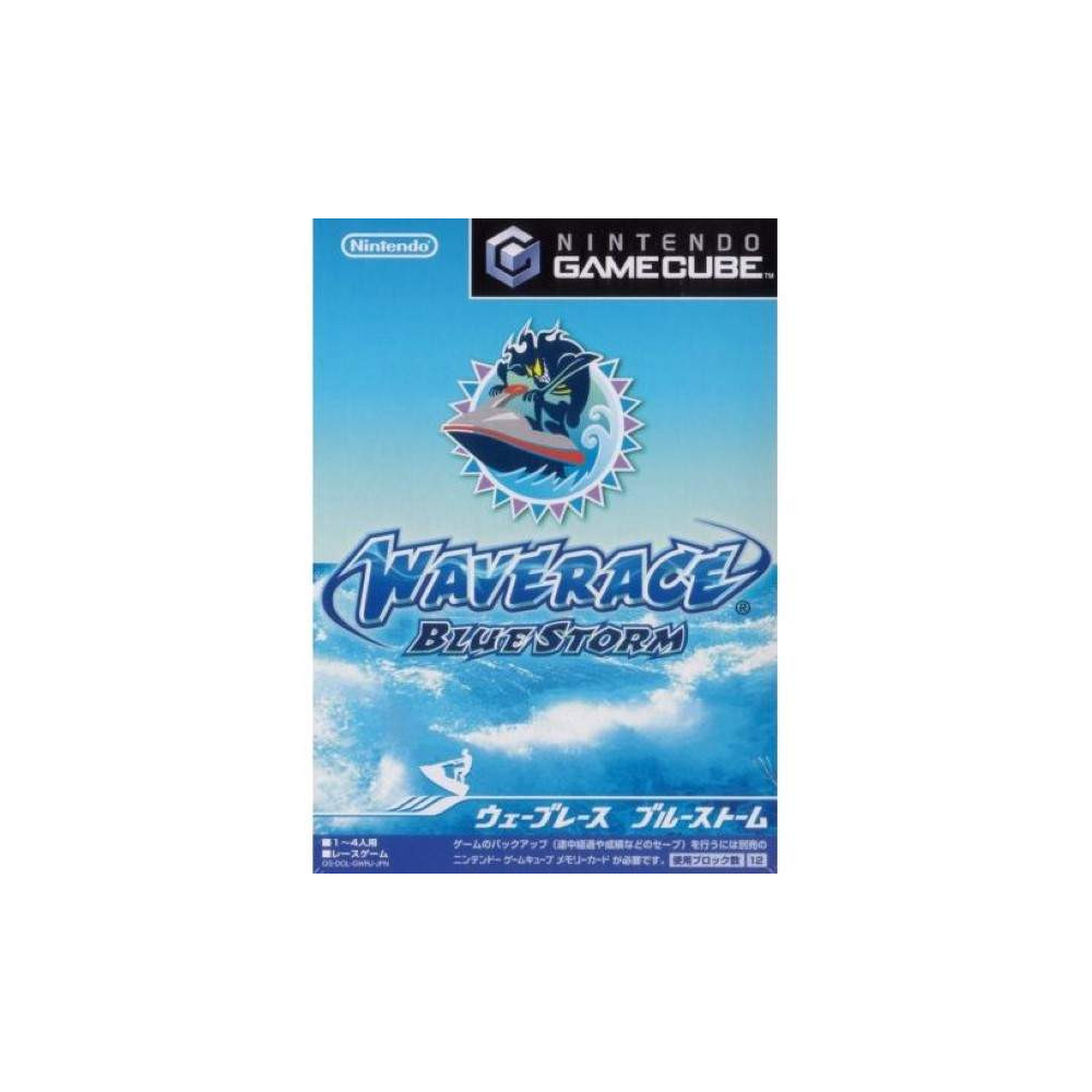 WAVE RACE BLUE STORM GAMECUBE NTSC-JPN NEW