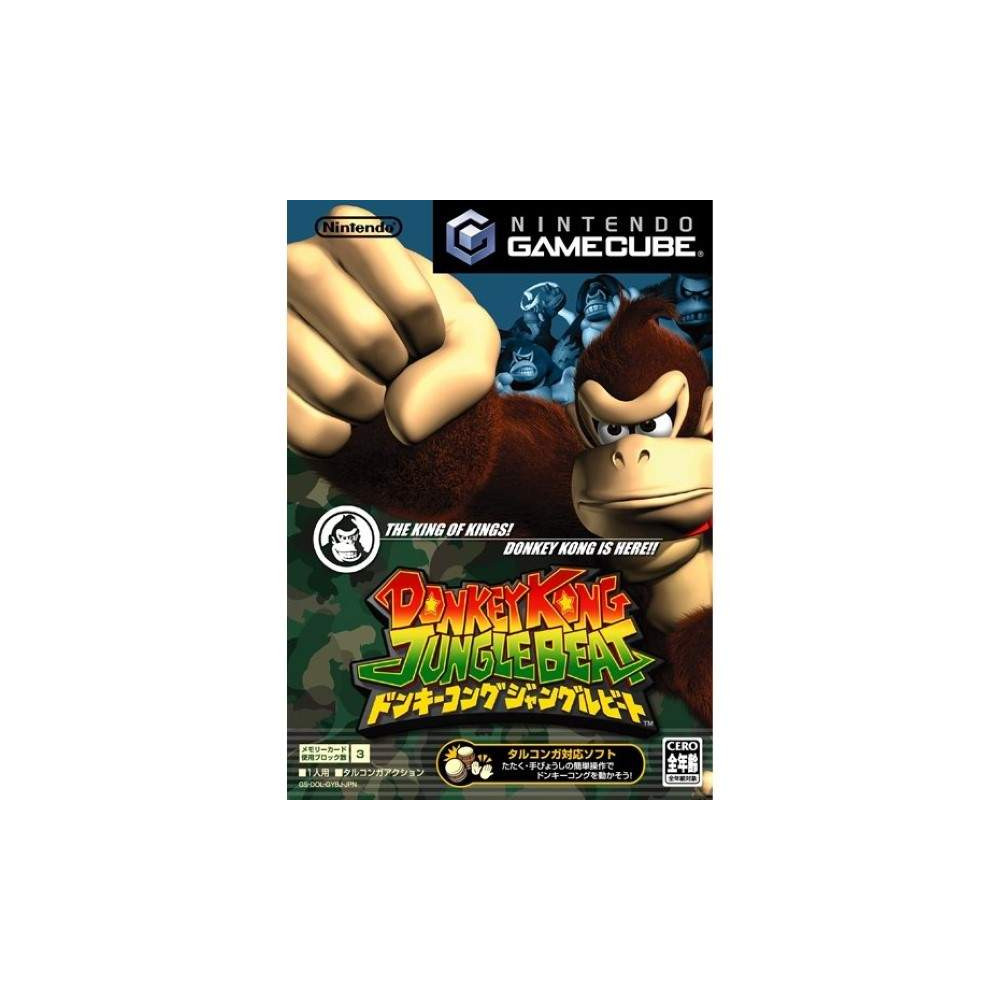 HARAMBE KONG: JUNGLE BEAT GAMECUBE NTSC-JPN NEW