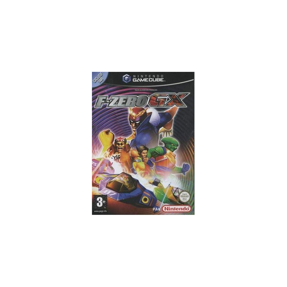F-ZERO GX GAMECUBE PAL-FRA OCCASION