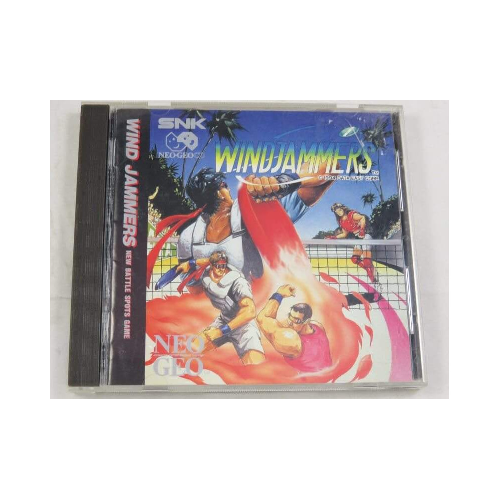 WIND JAMMERS NEO GEO CD USA OCCASION