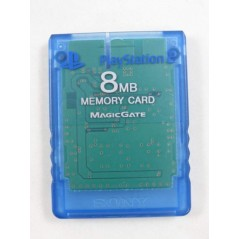 MEMORY CARD - CARTE MEMOIRE PS2 BLUE EURO OCCASION