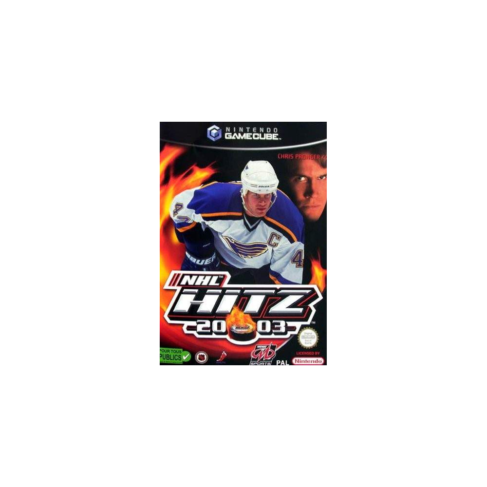 NHL HITZ 2003 GC PAL FAH OCCASION