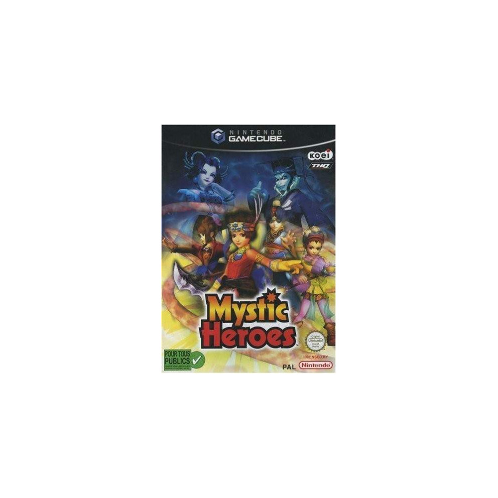 MYSTIC HEROES GAMECUBE PAL-FR OCCASION