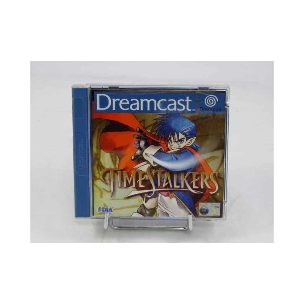 TIME STALKERS DREAMCAST PAL-EURO OCCASION