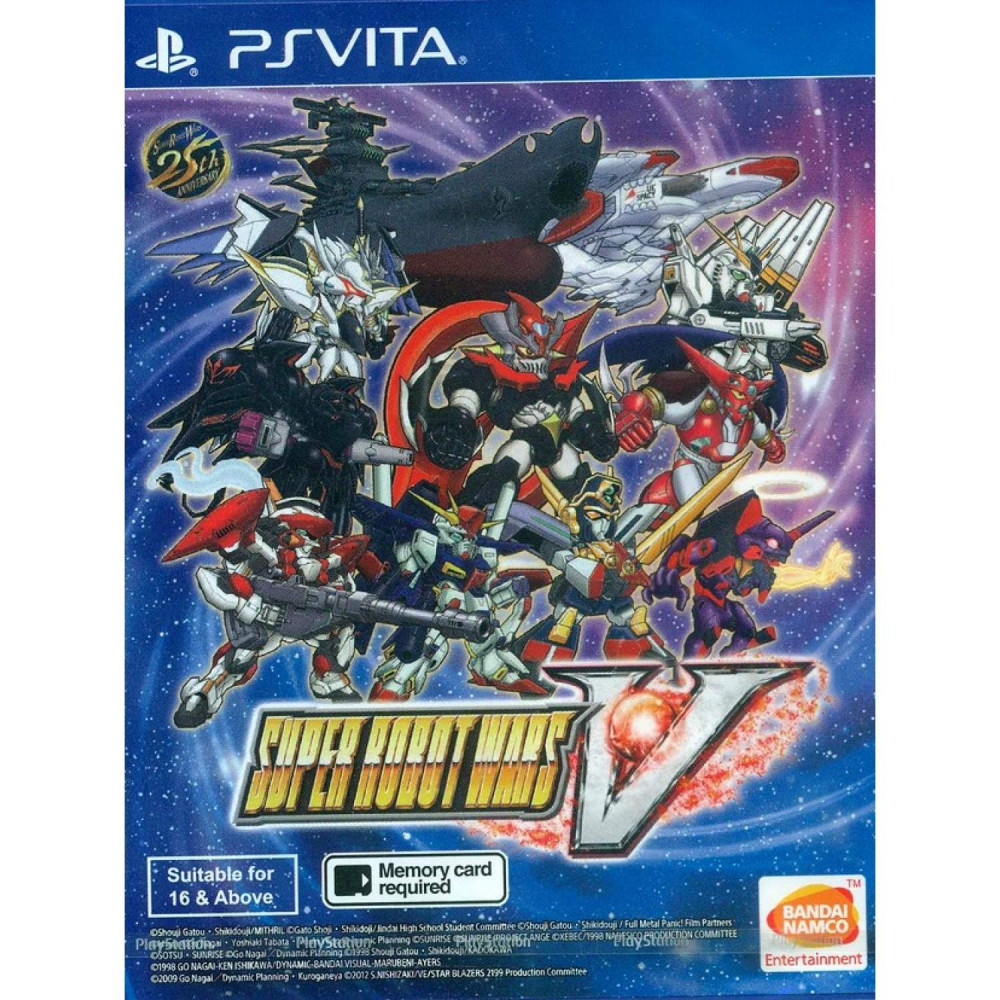 SUPER ROBOT WARS V PSVITA ASIAN EN ANGLAIS NEW