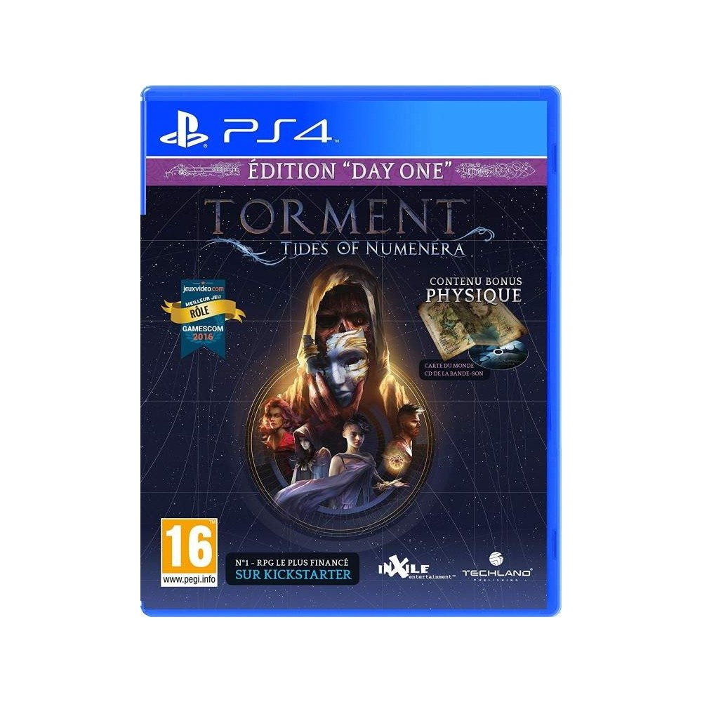 TORMENT TIDES OF NUMENERA DAY ONE EDITION PS4 UK NEW