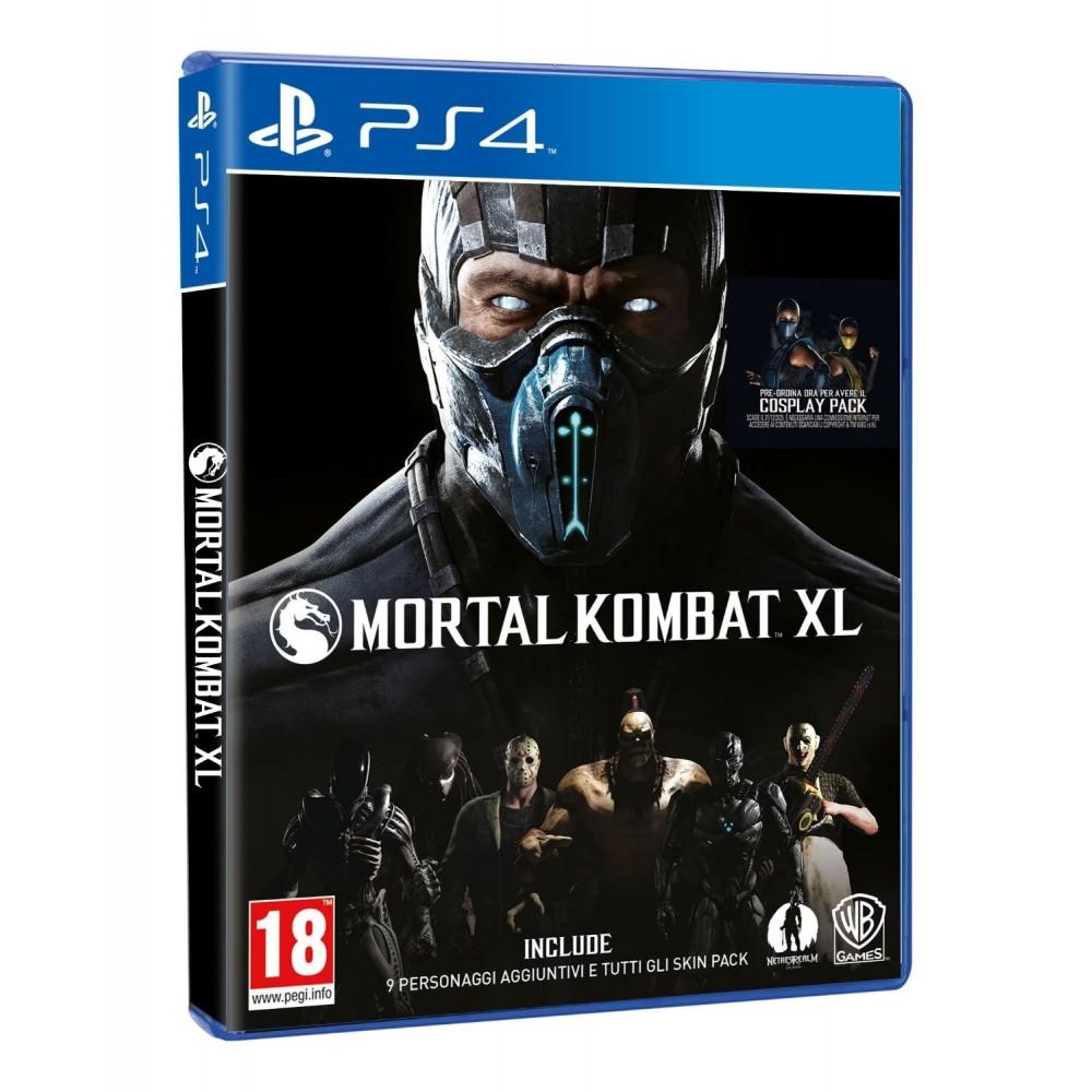 MORTAL KOMBAT XL PS4 EURO-UK OCCASION