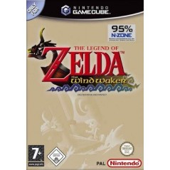THE LEGEND OF ZELDA THE WIND WAKER GAMECUBE PAL-FRA OCCASION