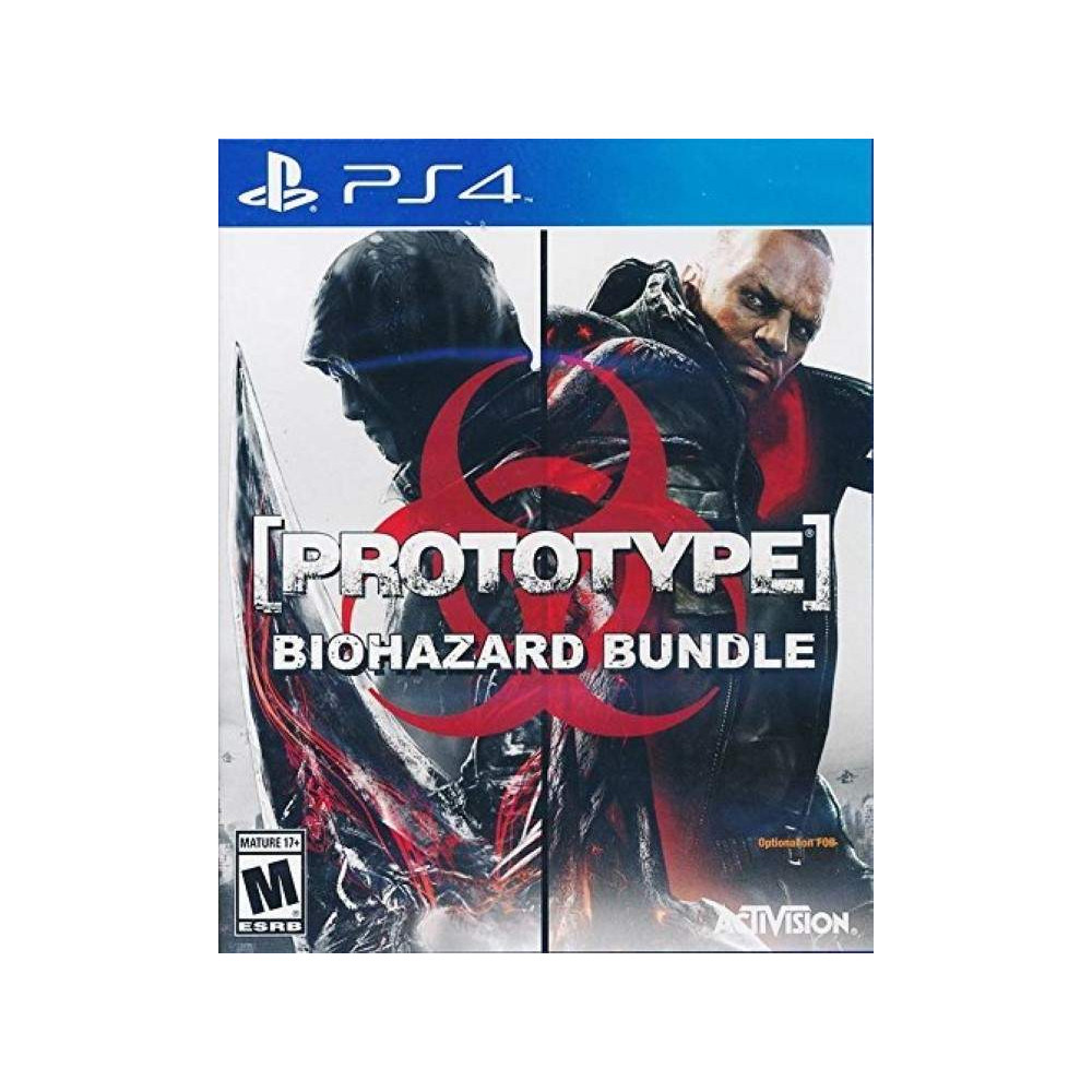 PROTOTYPE BIOHAZARD BUNDLE PS4 USA NEW