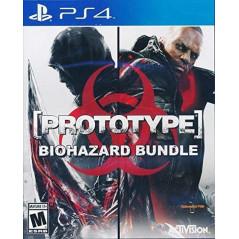 PROTOTYPE BIOHAZARD BUNDLE PS4 USA NEW