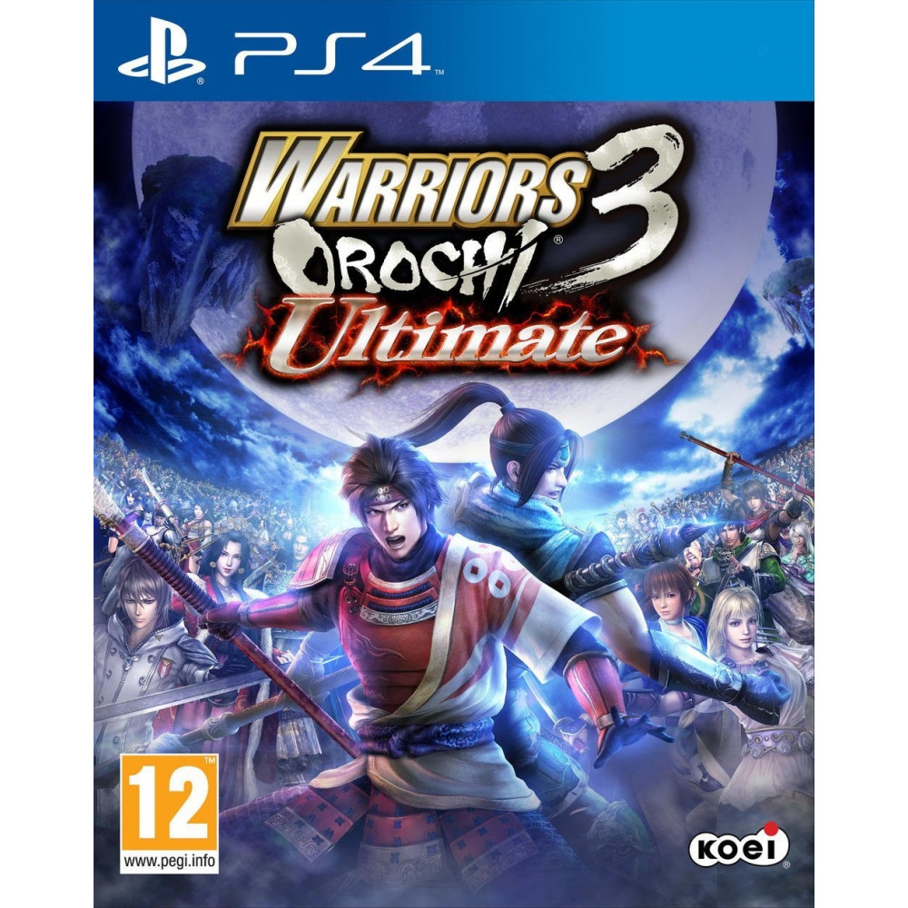 WARRIORS OROCHI 3 ULTIMATE PS4 VF OCC
