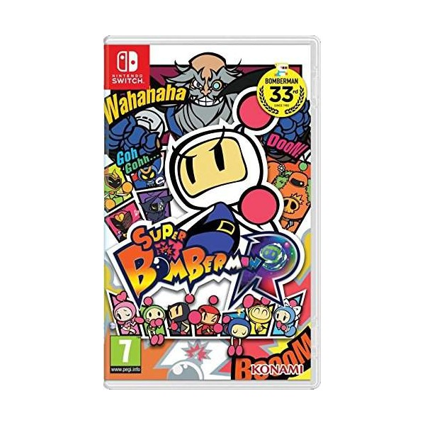 SUPER BOMBERMAN R SWITCH FRANCAIS NEW