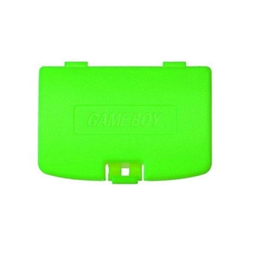 COVER BATTERY GAME BOY COLOR LIME GREEN
