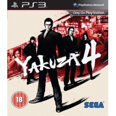 YAKUZA 4 PS3 UK OCCASION