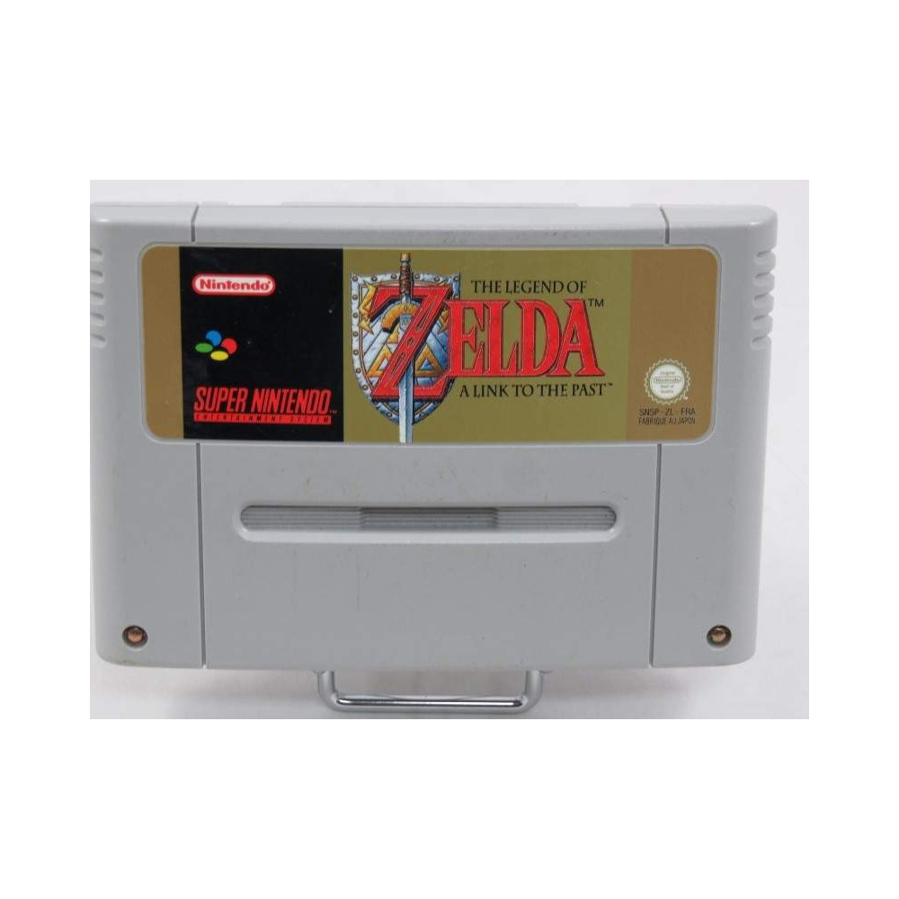 THE LEGEND OF ZELDA A LINK TO THE PAST SNES PAL-FRA LOOSE