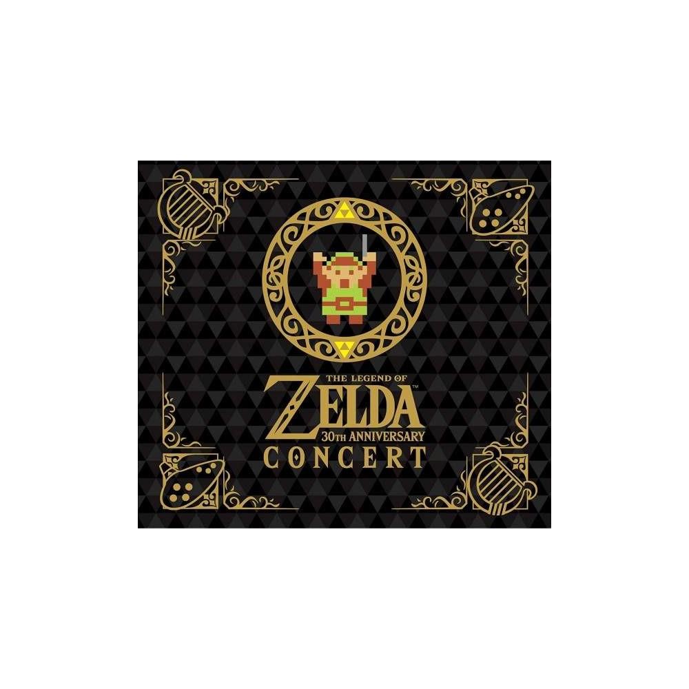 THE LEGEND OF ZELDA 30TH ANNIVERSARY CONCERT CD+DVD LIMITED EDITION NTSC-JPN NEW