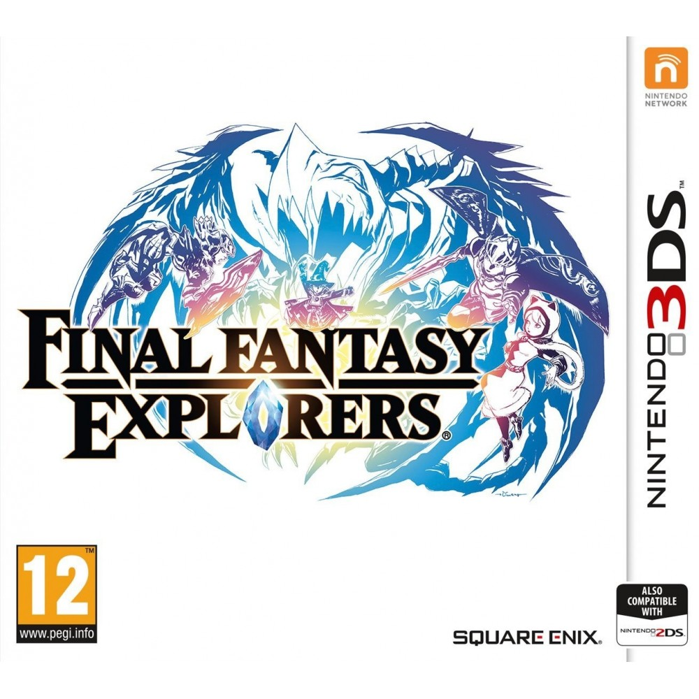 FINAL FANTASY EXPLORERS 3DS UK OCC