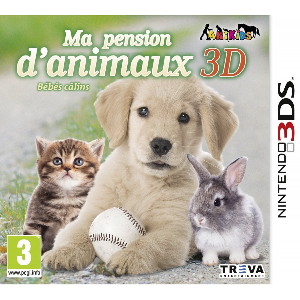 MA PENSION D ANIMAUX 3D 3DS VF OCC