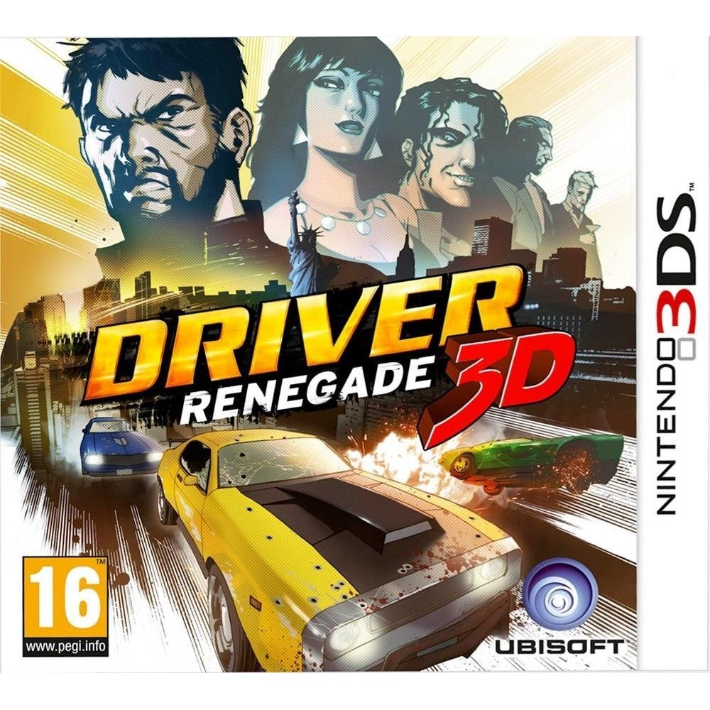 DRIVER: RENEGADE 3DS VF OCC