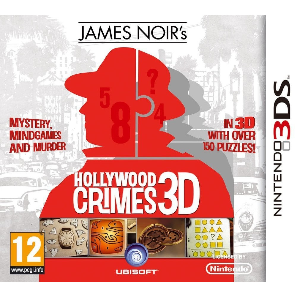 JAMES NOIR S HOLLYWOOD CRIMES 3D 3DS VF OCC